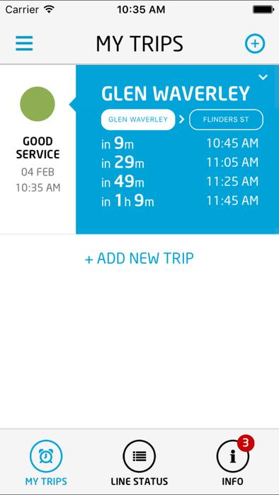 metroNotify App | Metro Trains