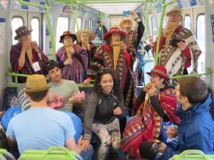 Pan Flutes On Train 1