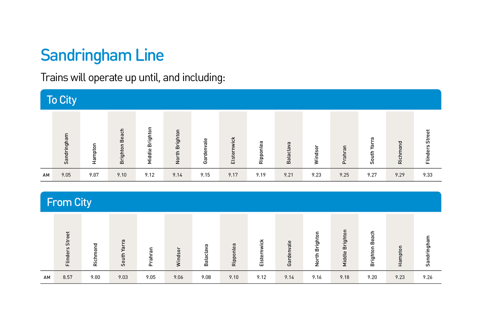 melbourne to warrnambool train timetable pdf